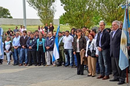 San Fernando conmemoró el 32° Aniversario Día del Veterano y de los Caídos en la Guerra de Malvinas