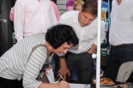 Redrado suma firmas contra el nuevo Código Penal en Vicente López