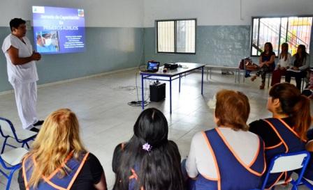 Capacitación de primeros auxilios a personal del municipio de San Fernando