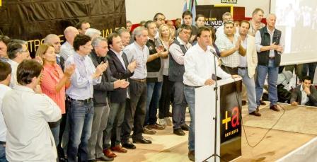 Sergio Massa participó del encuentro provincial de concejales del Frente Renovador