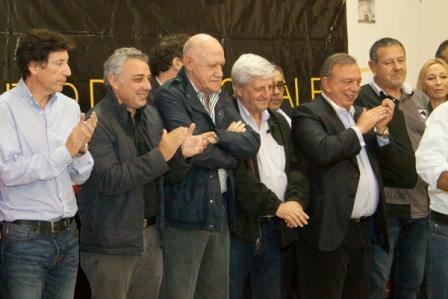 Julio Zamora participó de un encuentro del Frente Renovador en Mercedes