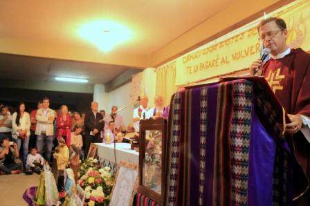 Inicio del Ministerio Pastoral del Padre Jorge García Cuerva, que se realizó este sábado a la noche en la parroquia Nuestra Señora de La Cava