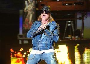 Guns N Roses presentó en Ferro un show de clásicos