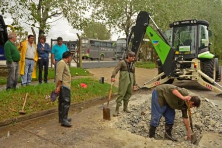 El Municipio trabaja para mejorar la capacidad de desagüe de la red hidráulica de Virreyes