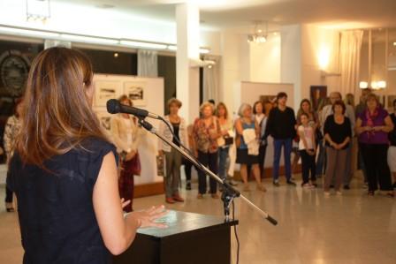 El Concejo Deliberante de Vicente López inauguró una muestra de arte sobre la Tierra
