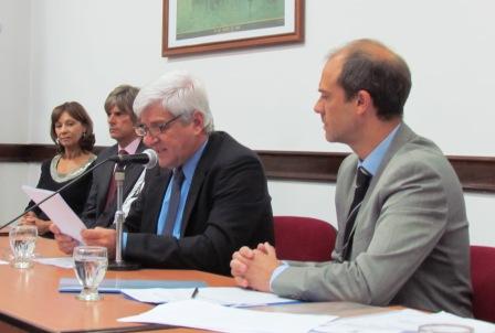 Luis Andreotti presidió la apertura de sesiones del H.C.D de San Fernando