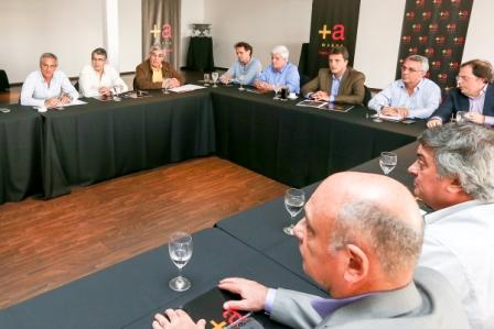 Intendentes del Frente Renovador se Reunieron en San Fernando