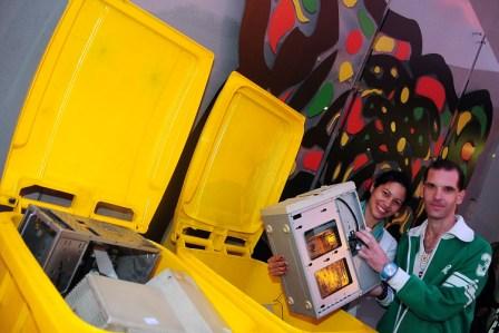 Tigre continúa reciclando residuos electrónicos
