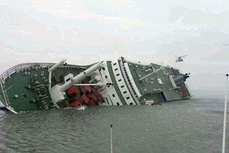 """El ferry surcoreano """"Sewol"""" portaba el triple de carga permitida"""