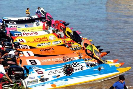 La F1 Powerboat inicia su temporada 2017 este fin de semana en Termas de Rio Hondo