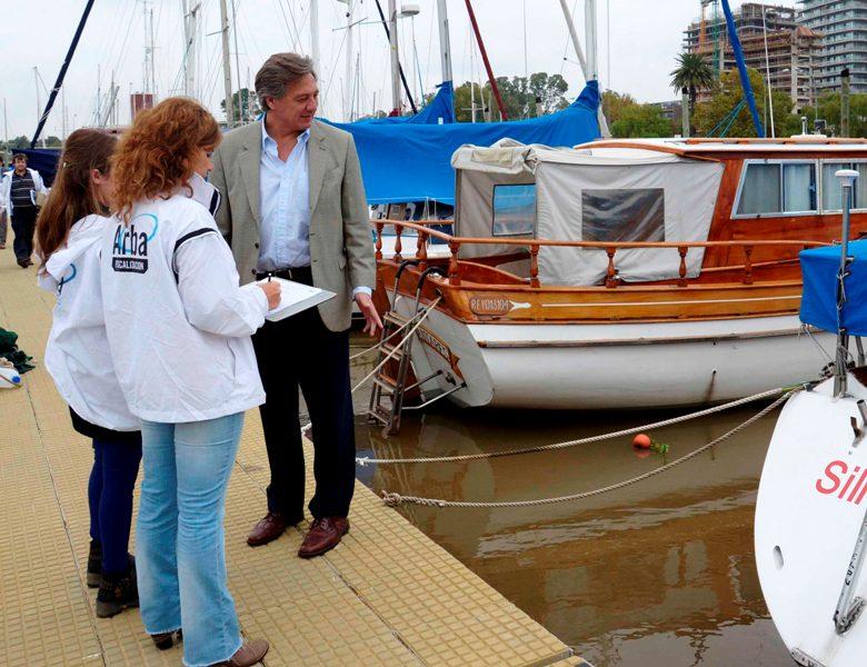 El 75% de las embarcaciones fiscalizadas por Arba en Vicente López registraba incumplimientos tributarios