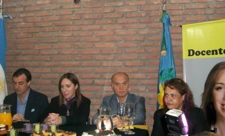 María Eugenia Vidal inauguró la Casa de Docentes Pro
