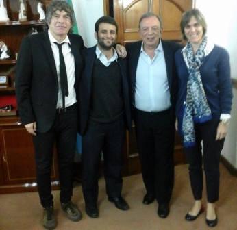 El intendente de Pilar, Humberto Zuccaro, se reunió con el presidente del Colegio de Psicólogos de la Provincia de Buenos Aires – Distrito XV, Licenciado Pedro Salas,