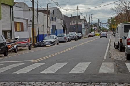San Fernando lleva adelante mejoras integrales en la calle Alvear y su entorno