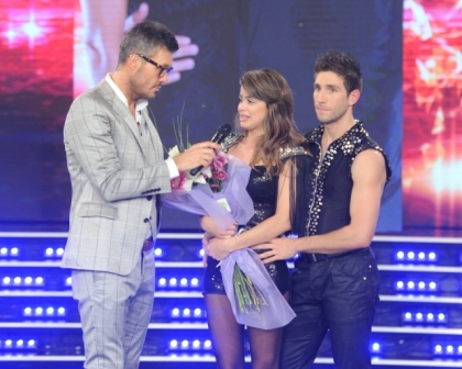 Vitto Saravia es la primera eliminada de bailando 2014