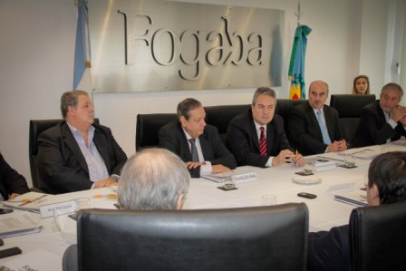 Destacaron el rol de Fogaba en el plan de desarrollo de la provincia de Buenos Aires