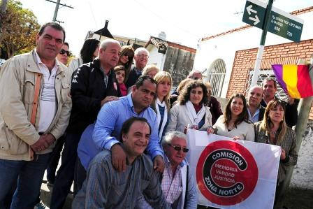 Tigre homenajeó a Dionisia La Gallega López Amado