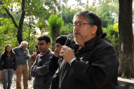 El Chino Navarro encabezó un plenario de discusión política en Pacheco