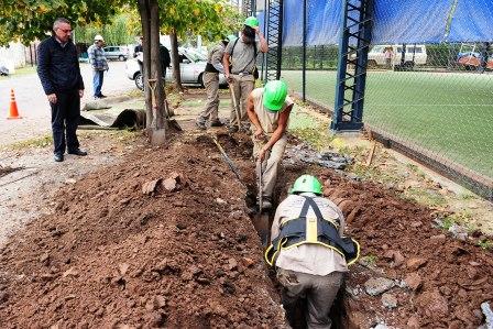 Expanden la red de agua potable en Pacheco