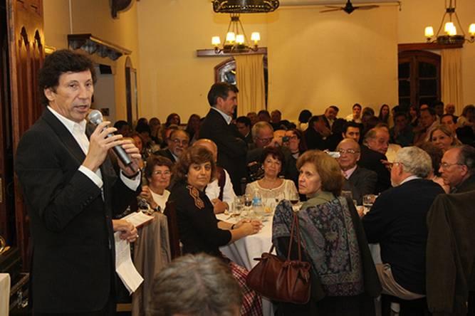 Se realizó la cena anual de San Isidro tradicional