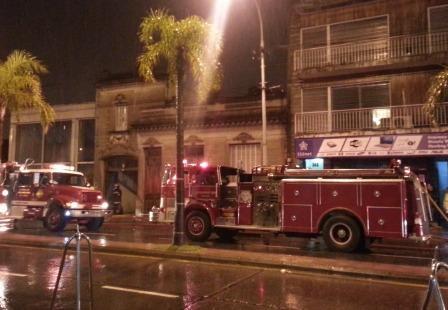 Un incendio afectó una vivienda en el centro de Tigre