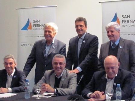 Massa y de la Sota se reunieron en San Fernando para trabajar propuestas en conjunto