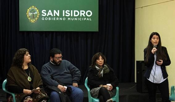 Cristina y Francisco Huber, Cristina Gómez y Rosario Gasco