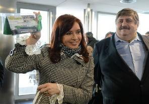 La Presidenta inauguró un Centro de Diagnóstico de SMATA en Don Torcuato