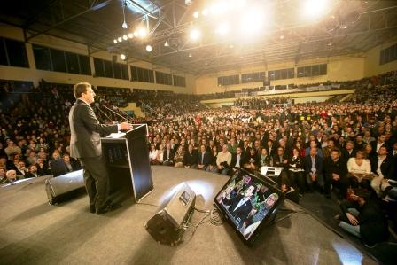 Sergio Massa presentó En Hurlingham las más de 2 millones de  firmas contra la reforma del Código Penal