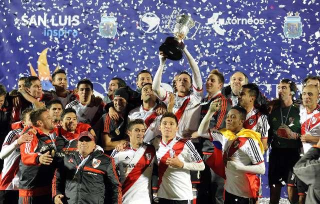 River le ganó a San Loenzo  la super final y accedió a la sudamericana y la supercopa