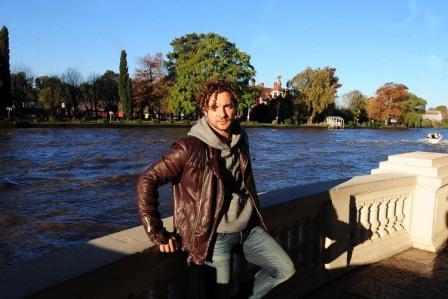 David Bisbal eligió a Tigre para grabar el video de Hoy, su nuevo corte.