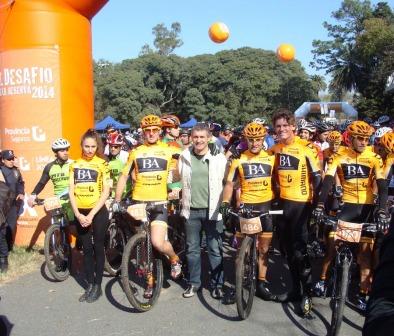 Más de mil ciclistas corrieron por el medio ambiente