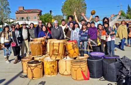 Luis Andreotti festejó el Día de la Patria en el Parque del Bicentenario