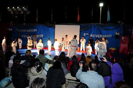 El Polideportivo Gral. Pacheco celebró su 5to. Aniversario
