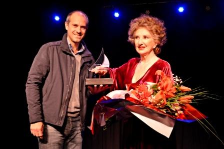 """Norma Aleandro honró al Teatro Martinelli con """"Sobre el amor y otros cuentos sobre el amor"""""""