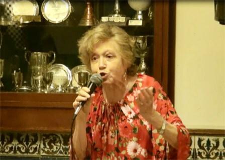 Ivonne Rousset en marzo pasado en el encuentro por el Día de la Mujer organizado por la Cámara de Comercio de San Isidro