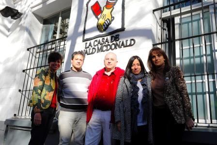 Tigre y la casa Ronald McDonald, juntos por los chicos