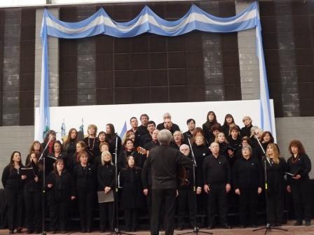 La Agencia de Cultura de Tigre fomenta un grupo coral en el Museo de la Reconquista