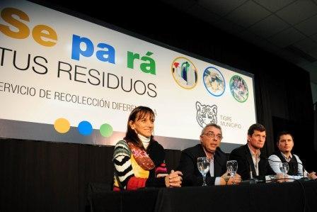El Municipio de Tigre lanzó la segunda etapa del programa Se Pa Rá, que promueve entre los vecinos separar sus residuos