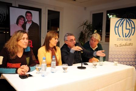 Mirta Tundis disertó en Don Torcuato