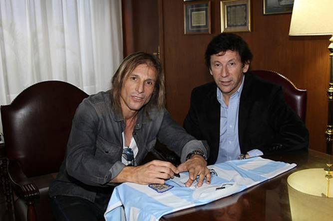 Caniggia mirará el partido de Argentina junto a alumnos de San Isidro