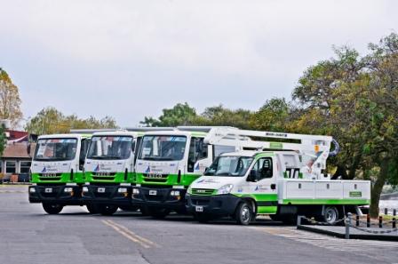 Nuevos vehículos se suman a la flota municipal de San Fernando