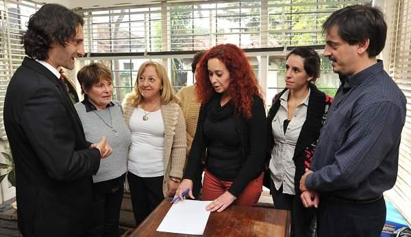 Relevan a las autoridades educativas del Distrito de Tigre