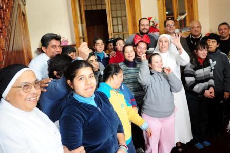 Tigre entregó un respaldo económico para la obra del Hogar Santa Rosa