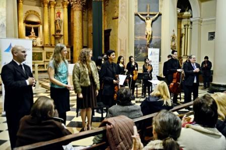 Concierto homenaje al compositor Gilardo Gilardi, en la Parroquia Nuestra Señora de Aránzazu