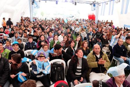 La Fan Fest de Tigre disfrutó de la magia de Messi