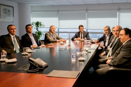 Massa recibió al Foro de Convergencia Empresarial