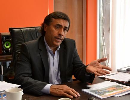 El ministro de Desarrollo Social, Eduardo Aparicio
