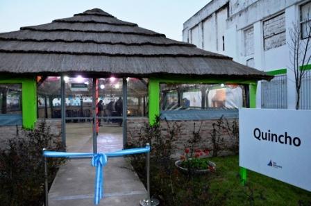 Andreotti inauguró un nuevo Quincho cerrado en el Polideportivo N°2