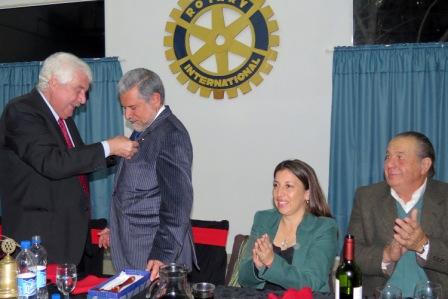 Cambio de autoridades del Rotary Club de General Pacheco